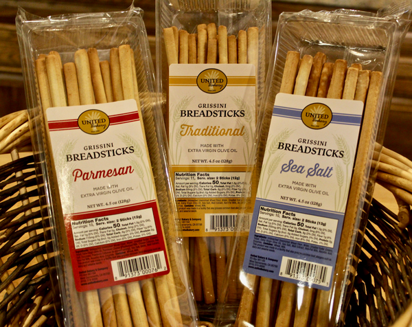 United Bakery Grissini Breadsticks 4.5 oz.