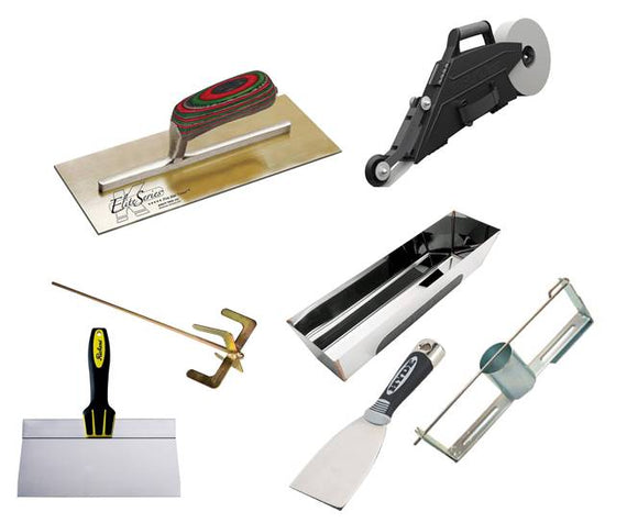 Drywall Finishing and Taping Tools