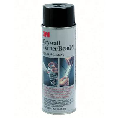 3M Drywall Corner Bead 61 Spray Adhesive (16 oz) - Timothy's Toolbox