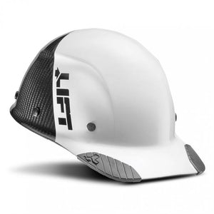 Lift Safety Dax 50/50 Carbon Fiber Cap Hard Hat White-Black HDC50C-19WC - Timothy's Toolbox