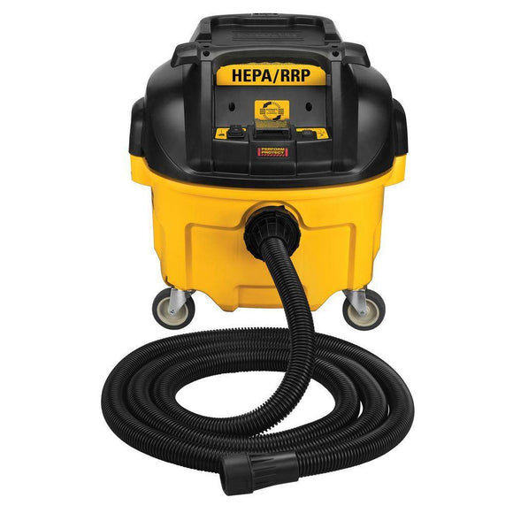 DeWalt DWV010 8 Gallon HEPA/RRP Dust Extractor with Automatic Filter Cleaning (Discount in cart) - Timothy's Toolbox