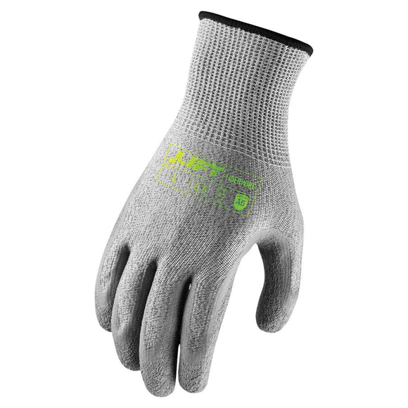 Lift Safety Fiberwire A5 Crinkle Latex Cut Resistant Glove GFL-19YM - Timothy's Toolbox