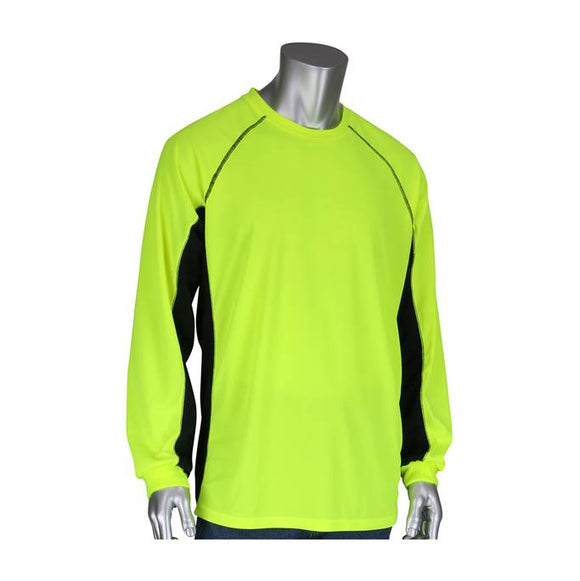 PIP 310-1150B Non-ANSI Long Sleeve Safety T-Shirt w/ Built-In Insect Repellent - Timothy's Toolbox