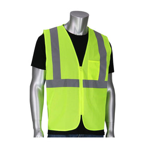 PIP 302-V100 Hi Vis Type R Class 2 Vest Safety Mesh- Yellow - Timothy's Toolbox