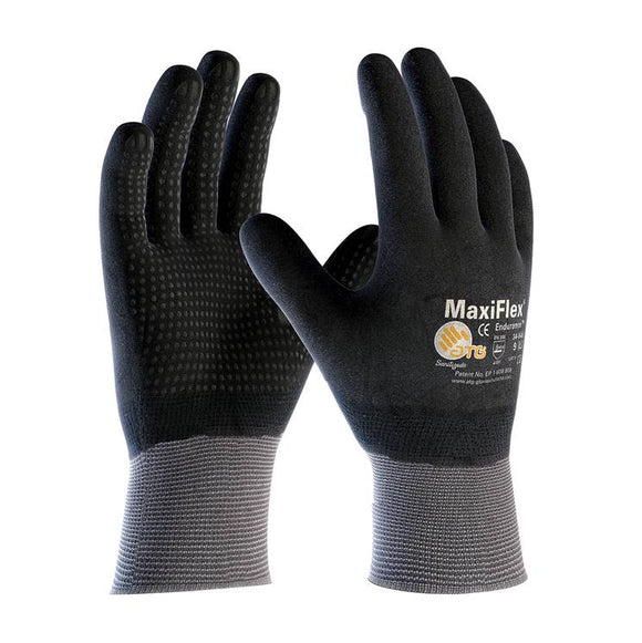 PIP 34-846 MaxiFlex Endurance Nitrile Micro-Foam Coated w/ Micro Dot Palm Gloves - Timothy's Toolbox