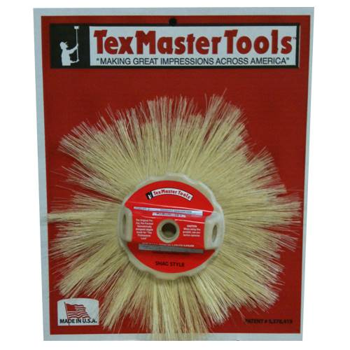 "TexMaster 12"" Stipple Brush - Tampico Shag Style 8804 - Timothy's Toolbox"