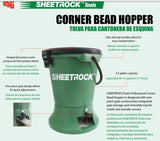 USG Sheetrock Tools Paper Face Corner Bead Hopper - Timothy's Toolbox