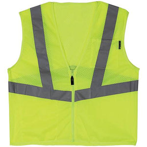 Lift Safety Viz-Pro 1 Yellow Safety Vest - Timothy's Toolbox