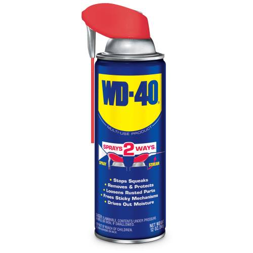 WD-40 12 oz. Aerosol Lubricant with Smart Straw