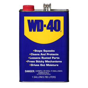 WD-40 Lubricant - 1 Gallon Can