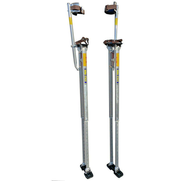 "Dura-Stilts D3864 Dura-III 38""-64"" Professional Tall Drywall Stilts"