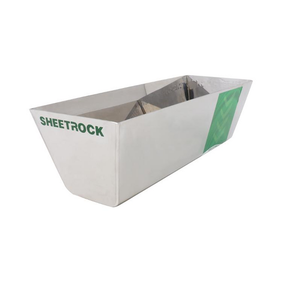 USG Sheetrock Tools Classic Stainless Steel Mud Pan 10