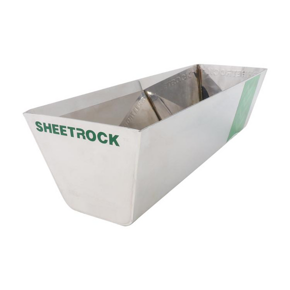 USG Sheetrock Tools Classic Stainless Steel Mud Pan 12