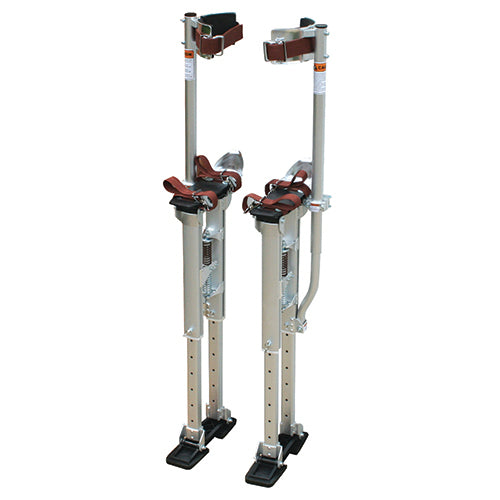 Contractor Plus Professional Dual Spring Aluminum Drywall Stilts 24-40'' - Timothy's Toolbox