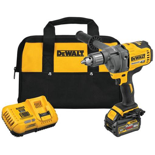 Dewalt 60V MAX* Mixer/Drill w/ E-Clutch System (KIT) DCD130T1 - Timothy's Toolbox