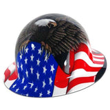 Honeywell Fibre-Metal Full Brim Hard Hat- Spirit of America E1RW00A006 - Timothy's Toolbox
