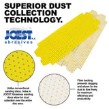 "Joest 150 Grit Drywall Sanding Sheets 3-7/16"" x 11-3/4""- 15ct"
