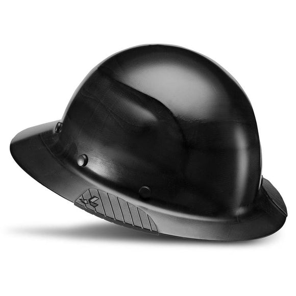 LIFT Safety HDF-15KG DAX Black, Full Brim Hard Hat - Timothy's Toolbox