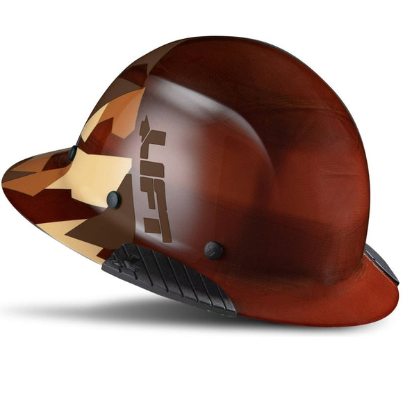 LIFT Safety HDF50-20CD DAX Desert Camo Natural, Full Brim Hard Hat- COMING SOON