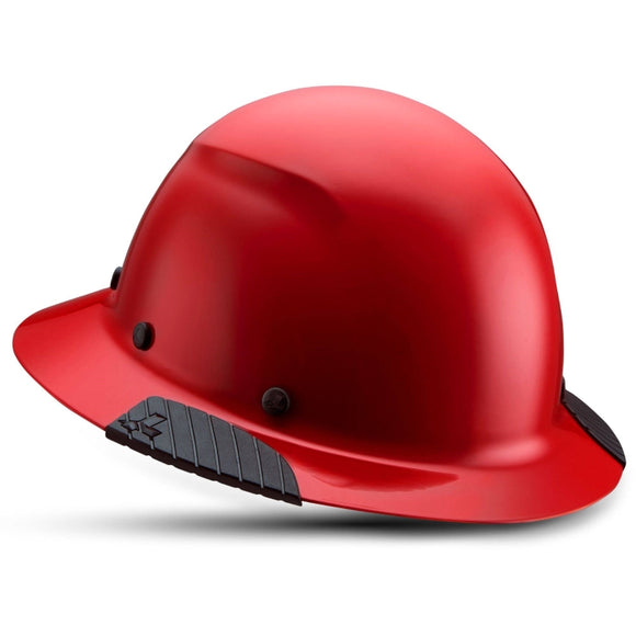 LIFT Safety HDF-20RG DAX Red Full Brim Hard Hat w/ Ratchet Suspension