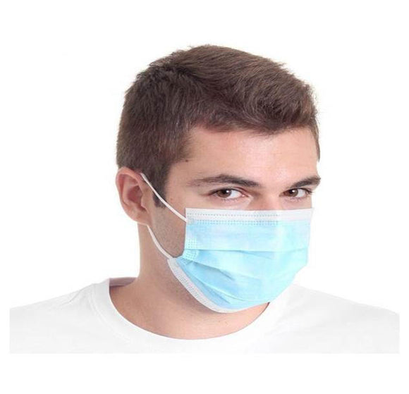 Surgical Disposable 3-PLY Face Masks with Ear Loop (20 Pack) - Timothy's Toolbox