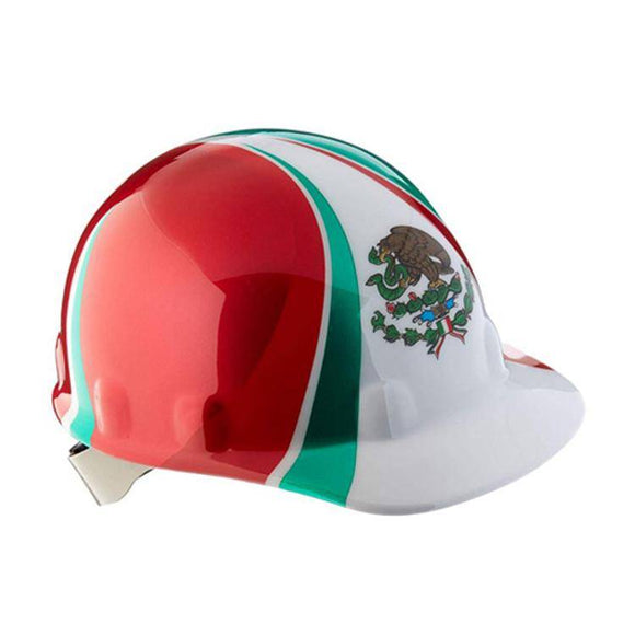 Honeywell Standard Fibre-Metal Hard Hat Mexican Heritage- E2RW00A285 - Timothy's Toolbox