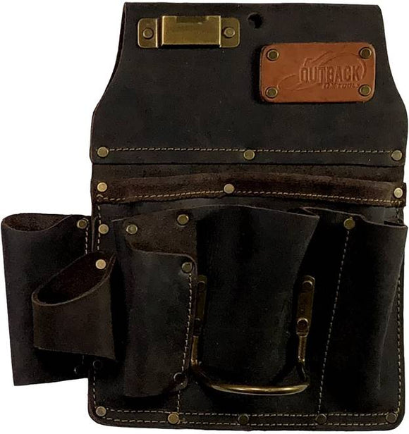 Ox Pro OX-P263801 Oil-Tanned Leather Drywall Tool Pouch - Timothy's Toolbox