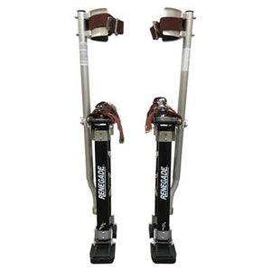 "Renegade Pro Drywall Stilts 18"" - 30"" - Timothy's Toolbox"