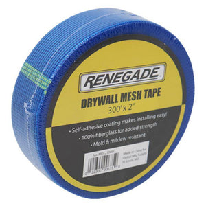 "Renegade Blue Drywall Mesh Tape 2"" X 300' - Timothy's Toolbox"