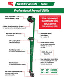 USG Sheetrock Magnesium, Lightweight Professional Drywall Stilts 24-40""
