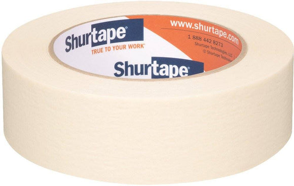 Shurtape 1-1/2 in x 60 yd CP 105 General Purpose Masking Tape