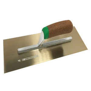 "USG Sheetrock Tools Matrix Cork Handle Trowel 14"" x 4.75"" - Timothy's Toolbox"