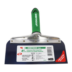USG Sheetrock 8'' Blue Steel Offset Taping Knife - Timothy's Toolbox