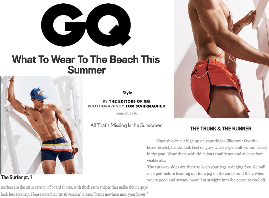 GQ Recommends Parke & Ronen For Summer