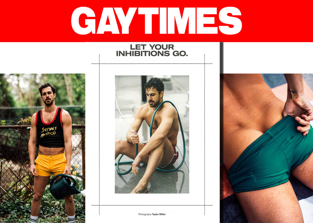 Gay Times Magazine And Photographer Taylor Miller Let Their Inhibitions Go With Parke & Ronen