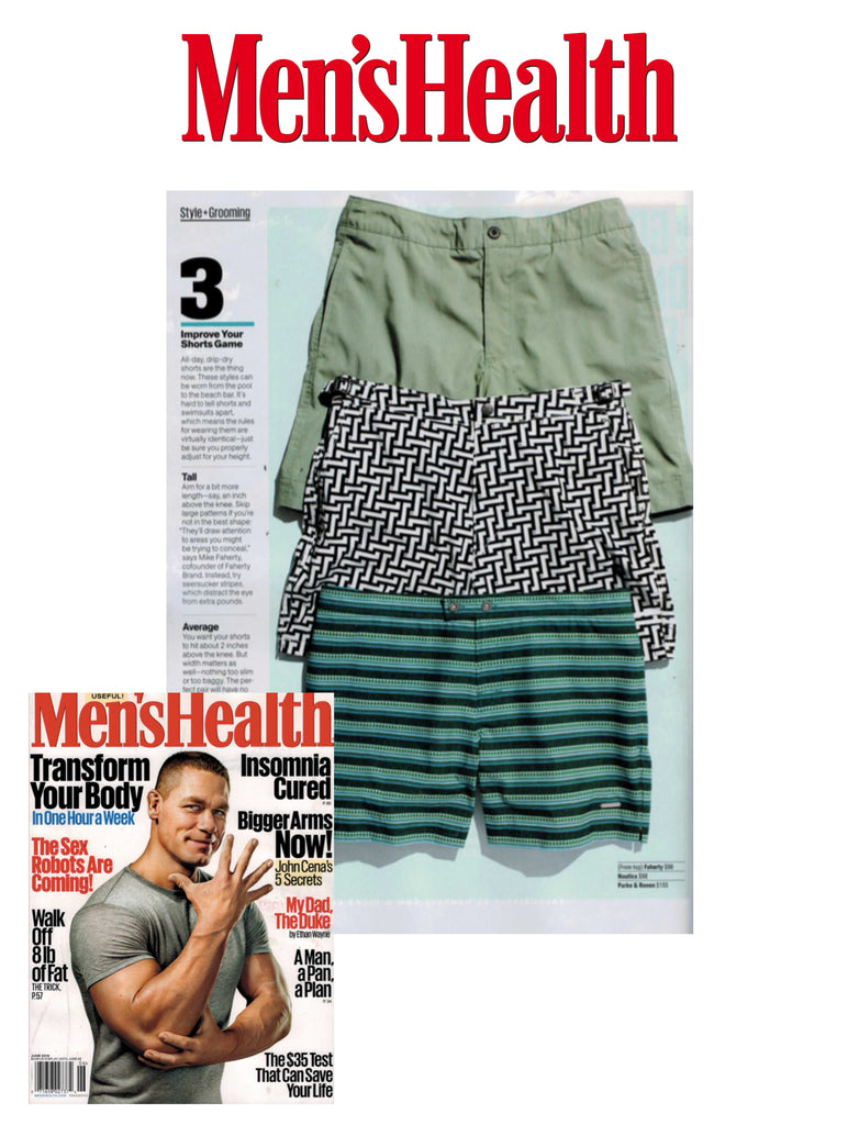 Men's Health Wants You To Improve Your Shorts Game With Parke & Ronen