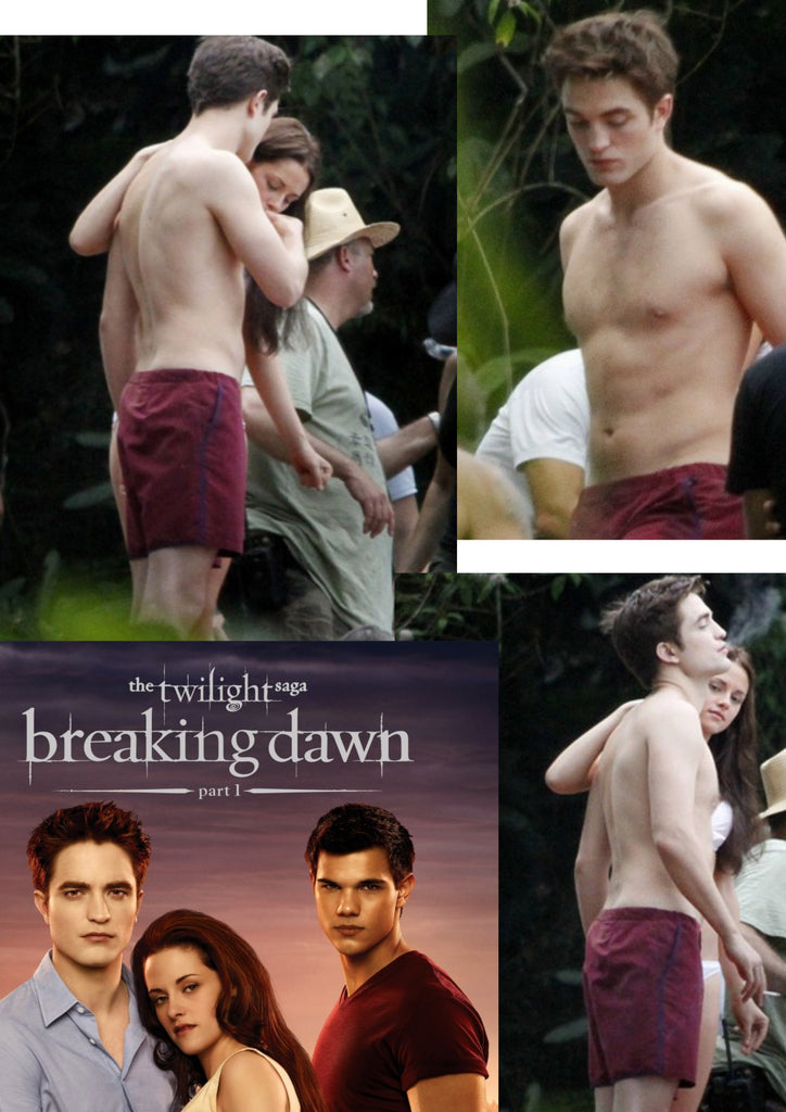 """Twilight: Breaking Dawn"" Star Rob Pattinson In Parke & Ronen"