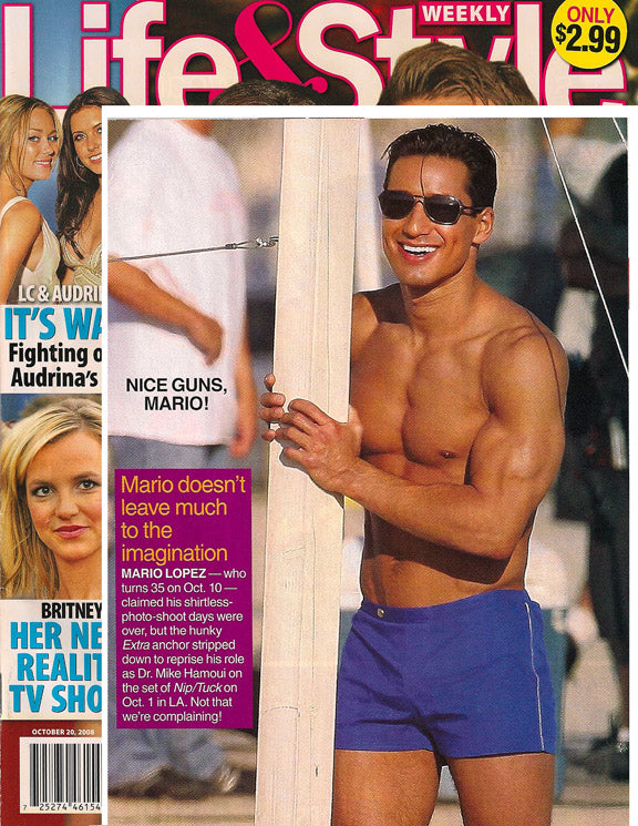 Life & Style-Mario Lopez In Parke & Ronen