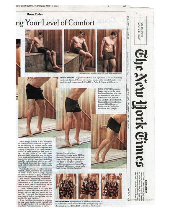 New York Times Thursday Style Section Features Parke & Ronen Page 2