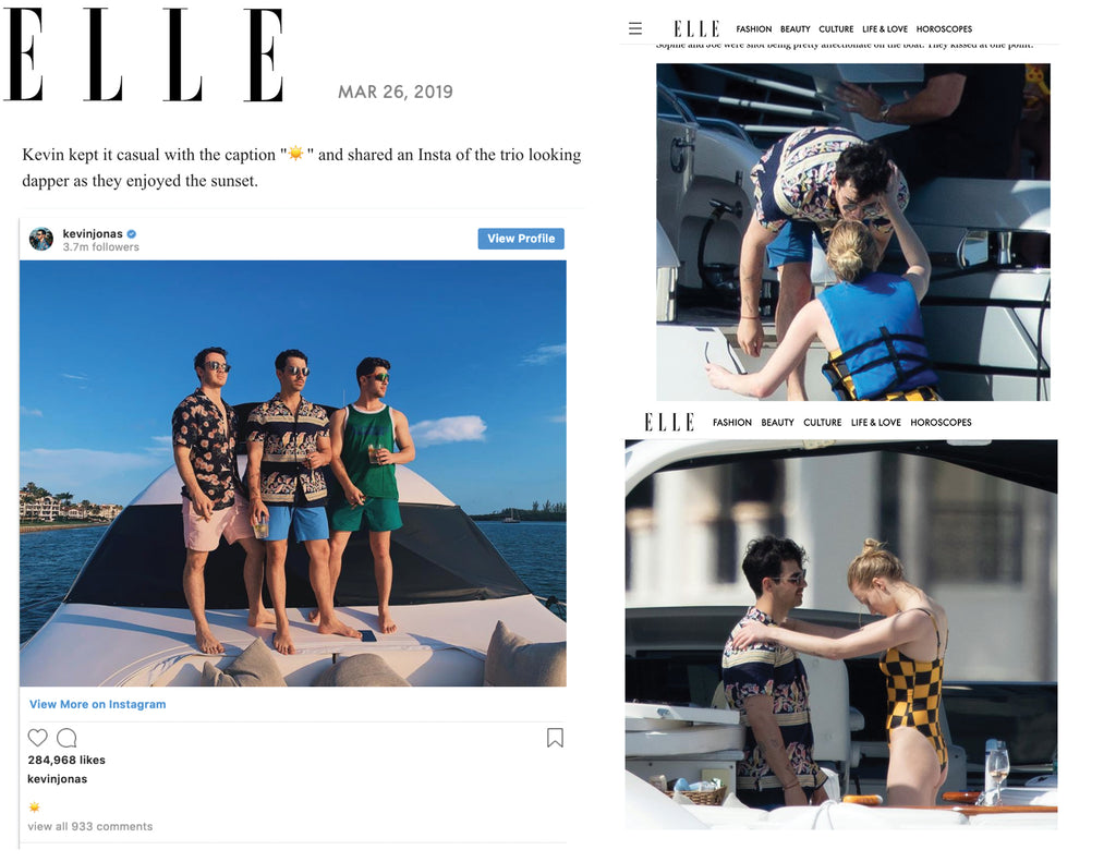 ELLE - Joe Jonas in Parke & Ronen