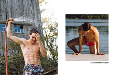 Parke & Ronen Fall Campaign Lifestyle Image- photography by Menelik Puryear- Model Mason McKenrick