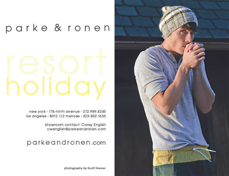 Parke & Ronen Resort 2011 Lookbook