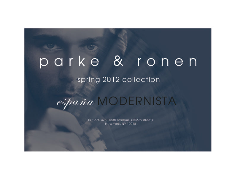Parke & Ronen S/S 2012 Lookbook