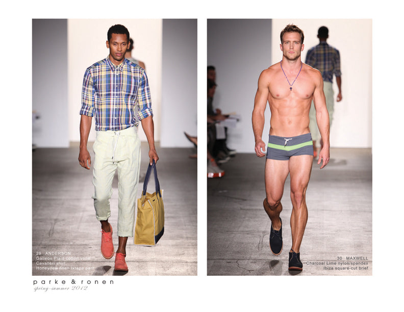 "Parke & Ronen S/S 2012 ""España Modernista"" Lookbook"