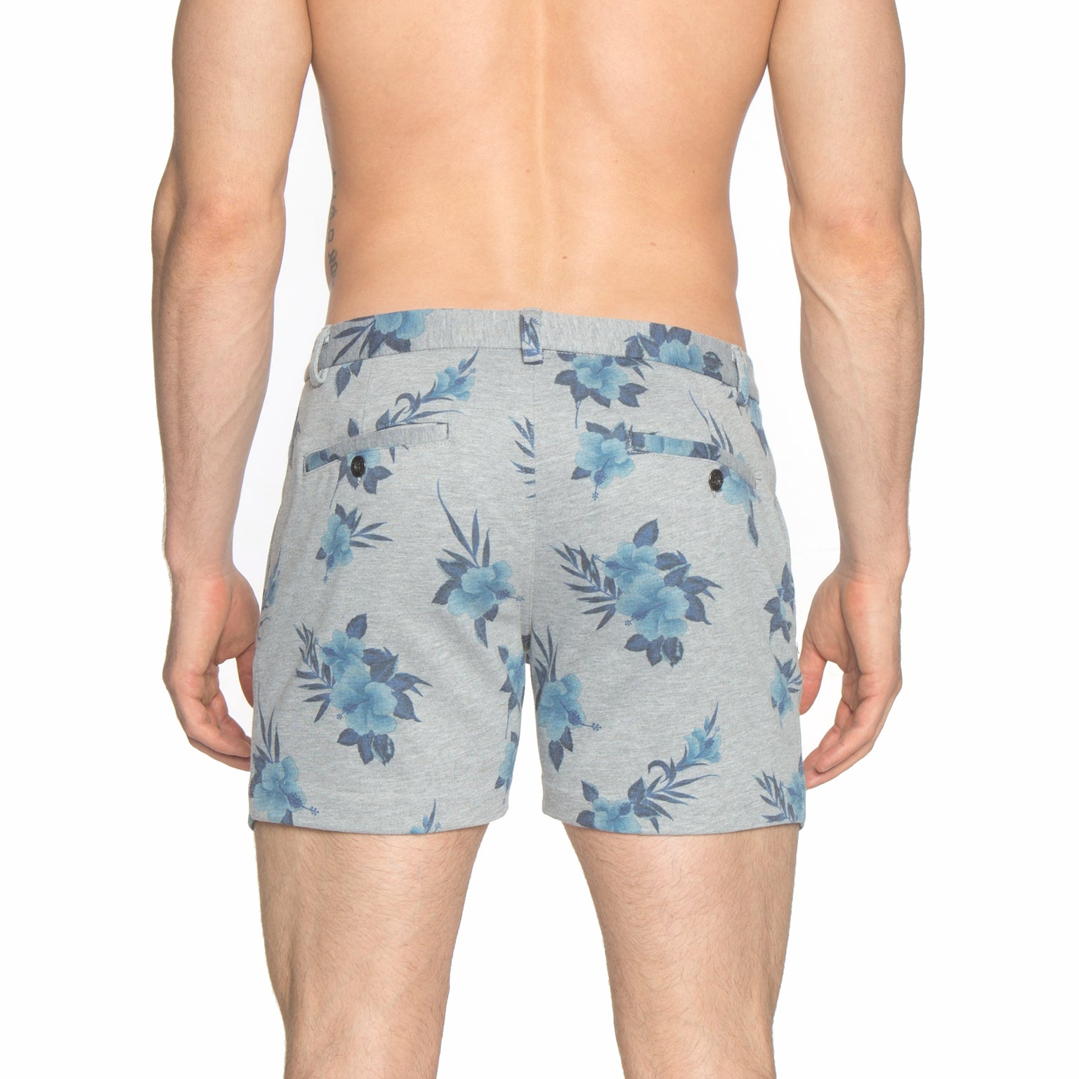 Hibiscus Heather Grey