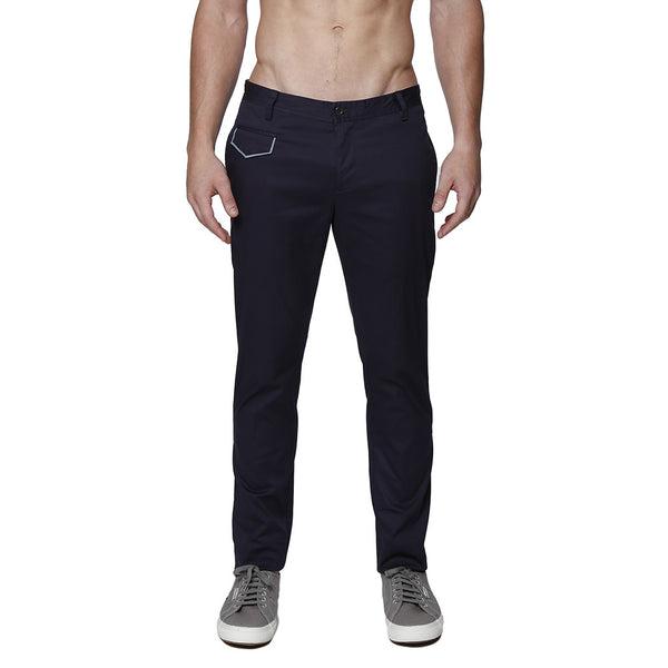 Solid Stretch Lido Trouser