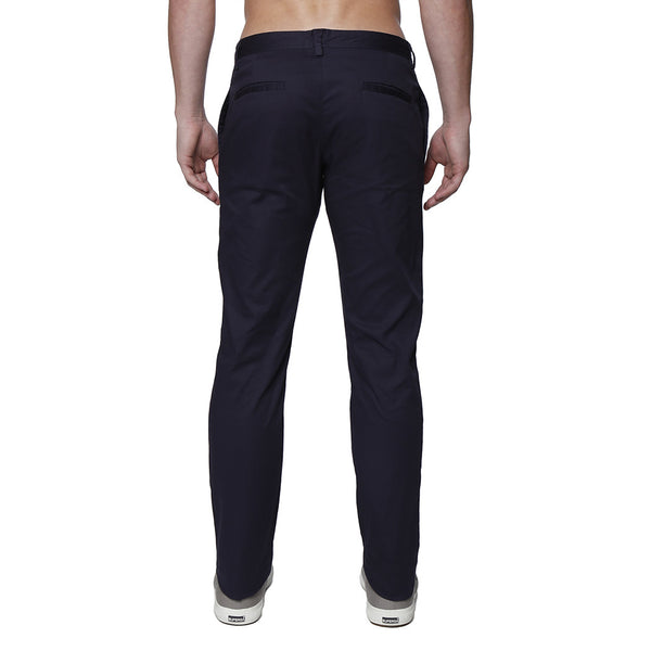 Dark Solid Stretch Lido Trouser