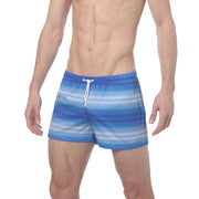 Sahara Blues Printed P-Town Short - parke & ronen