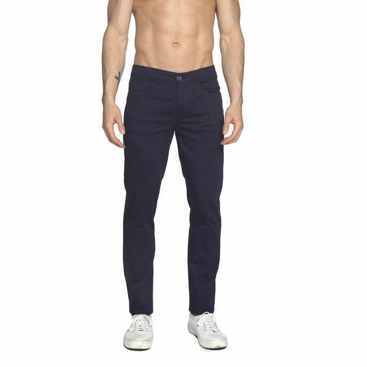 Navy Stretch Apollo Jeans - parke & ronen