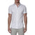 [parke & ronen] Solid Stretch Poplin Short Sleeve Shirt - white (Thumbnail)